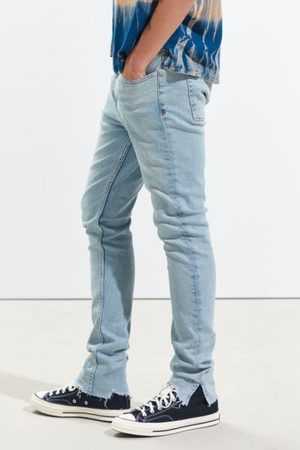 BDG Skinny Jean - Split Hem Bluebell Wash