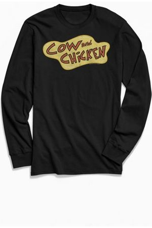 Urban Outfitters Cow And Chicken Long Sleeve Tee