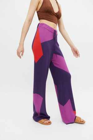 Hosbjerg Corsa Colorblock Knit Pull-On pant