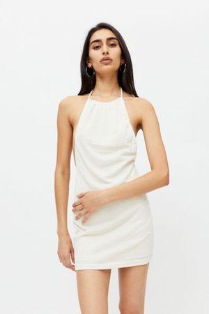 Motel Perga Halter Mini Dress