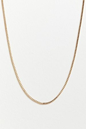 Urban Outfitters Delicate Box Chain Necklace