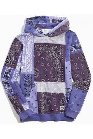 BDG Washed Bandana Hoodie Sweatshirt