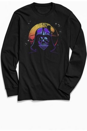 Urban Outfitters Star Wars Darth Vader And Death Long Sleeve Tee