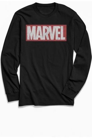 Urban Outfitters Marvel Classic Logo Long Sleeve Tee