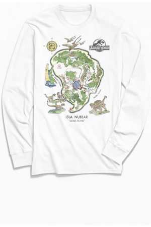 Urban Outfitters Jurassic World Isla Nubla Long Sleeve Tee
