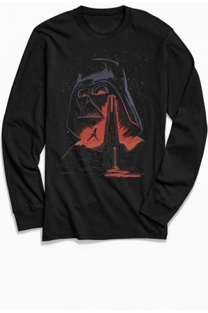 Urban Outfitters Star Wars Fortress Vader Long Sleeve Tee