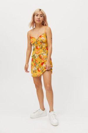 Urban Outfitters UO Elodie Printed Mesh Mini Dress