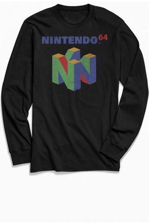 Urban Outfitters Nintendo 64 Classic Logo Long Sleeve Tee