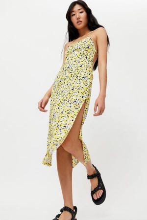 Motel Nosita Floral Midi Slip Dress