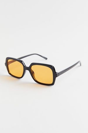 Urban Outfitters Ash Translucent Rectangle Sunglasses
