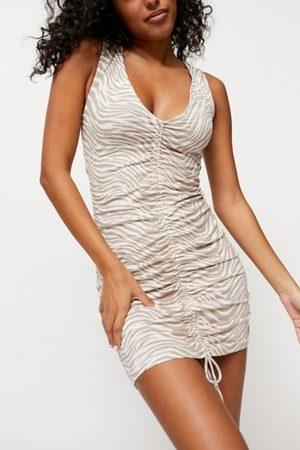 Motel Dilada Ruched Mini Dress