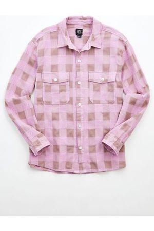 BDG Waffle Check Overshirt