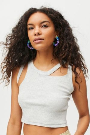 Urban Outfitters Maggie Icon Hoop Earring