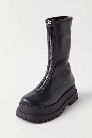 Urban Outfitters UO Zola Zip Platform Boot