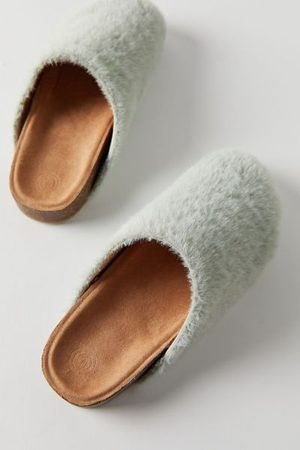 Urban Outfitters UO Heidi Shearling Clog