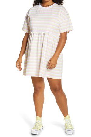 BP. Plus Size Women's Babydoll Organic Cotton Dress