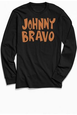 Urban Outfitters Johnny Bravo Long Sleeve Tee