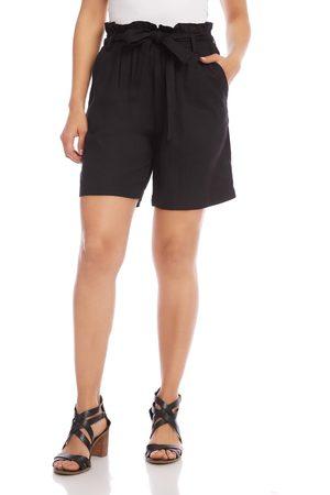 Karen Kane Women's Paperbag Waist Shorts