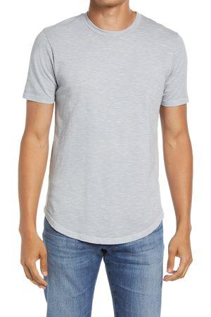 miss goodlife Men's Scallop Short Sleeve T-Shirt
