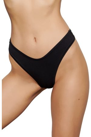 SKIMS Women's Stretch Cotton Dipped Thong