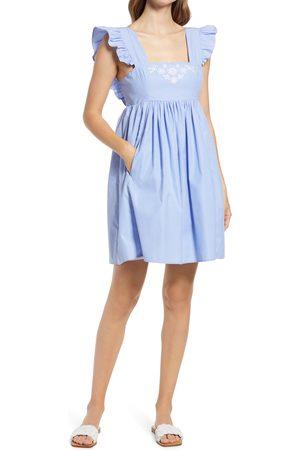 Draper James Women's Stripe Pinafore Minidress