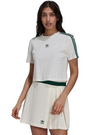 adidas Cropped Short Sleeve T-shirt 32 Off