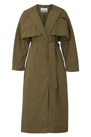 Ganni Women Trench Coats - Trench coat