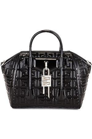 Givenchy Mini Antigona Lock 4G Leather Bag in