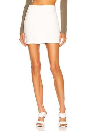 DION LEE Contour Stitch Mini Skirt in