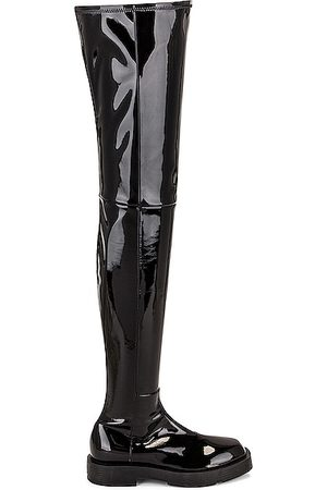 Givenchy Squared Over The Knee Boots in