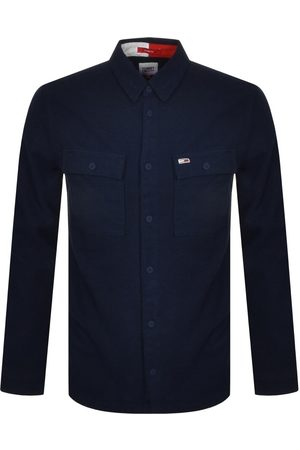 Tommy Jeans Men Casual - Soft Overshirt Navy