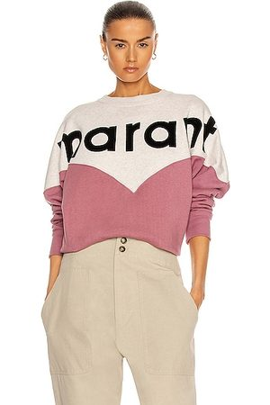 Isabel Marant Women Sweatshirts - Houston Sweatshirt in Rose