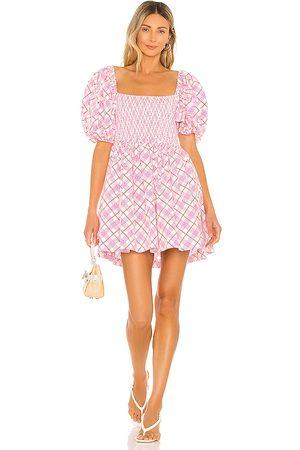 SWF Puff Sleeve Mini Dress in .