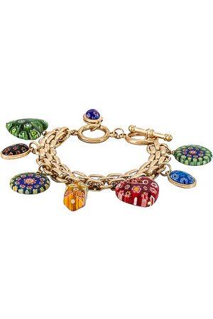 petit moments Paloma Charm Bracelet in Metallic .