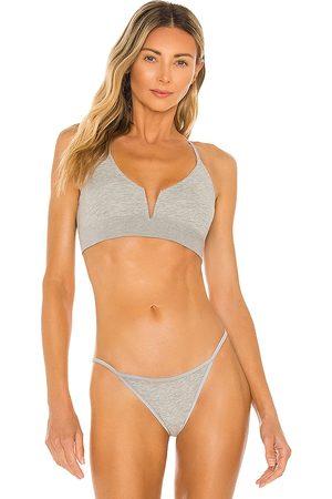 Skin Gita Bralette in Grey.