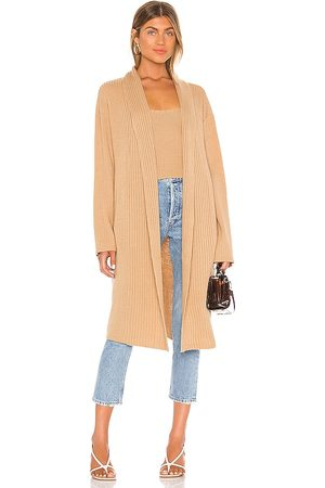 Song of Style Pawnie Cardigan in Tan.