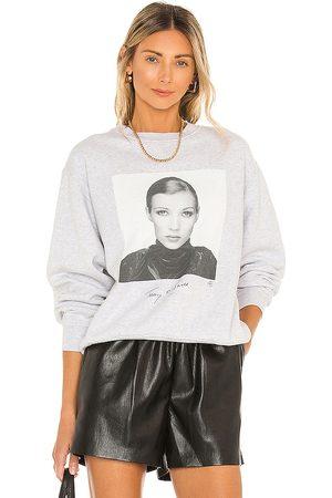 ANINE BING Women Hoodies - Ramona Sweatshirt Ab X To Kate Moss in Grey.