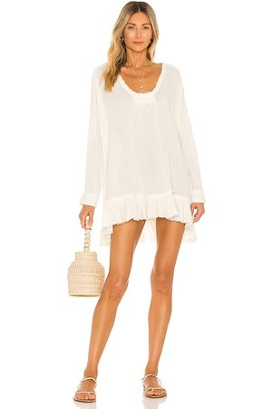 Free People X REVOLVE Bring It On Tunic in Ivory.