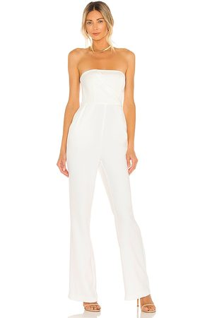 NBD Eliot Jumpsuit in Ivory.