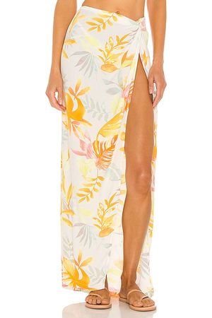 L*Space Mia Cover Up in White,Yellow.