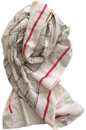 CHARLOTTE Ecru Wool Scarves