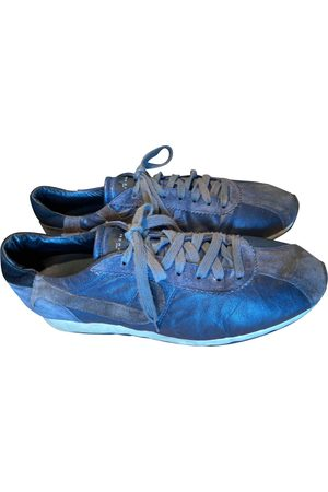John Richmond Leather low trainers