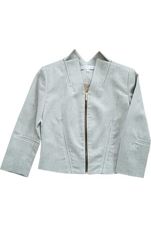 EMMANUELLE KHANH Grey Wool Jackets