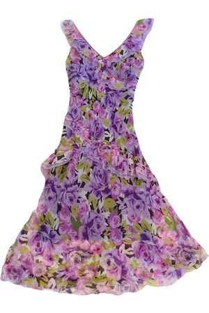 Shelli Segal Women Midi Dresses - Silk mid-length dress