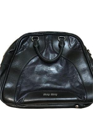 Miu Miu Leather bowling bag