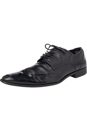 Dolce & Gabbana Brogue Leather Lace Up Derby Size 43
