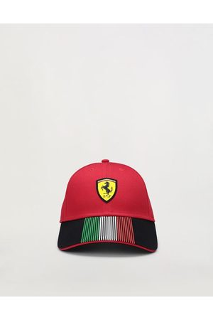 FERRARI STORE Hats - Kids' Italian flag baseball hat