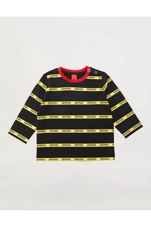 FERRARI Infant long-sleeved Pima cotton jersey T-shirt