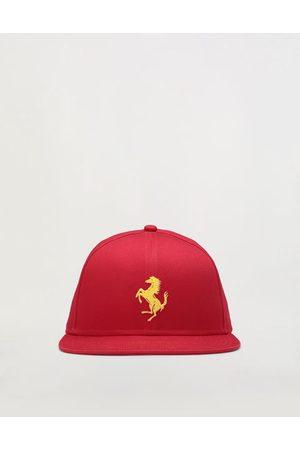 FERRARI Kids' flat-visor Prancing Horse baseball hat