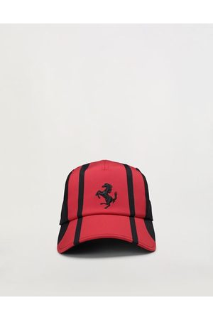FERRARI STORE Kids' livery baseball hat with Prancing Horse